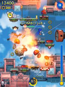 Sonic Jump Fever - Screenshot 01 - iPad_1402370587