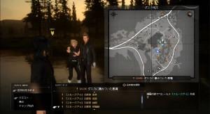 FFXV map