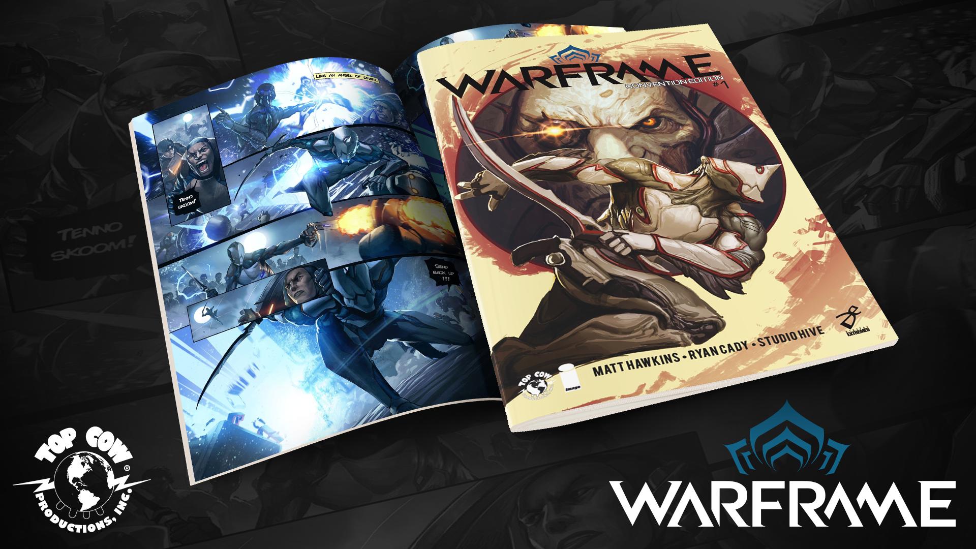 WARFRAME annonce la sortie d'un Comics