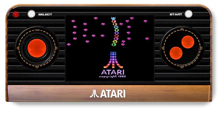 Atari Retro Handheld Console - screen