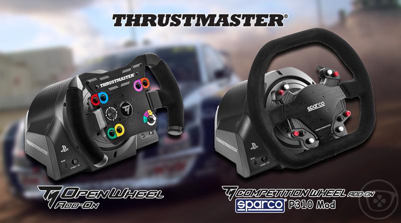 Thrustmaster présente deux nouvelles roues « adds-on » aux Blancpain GT Series