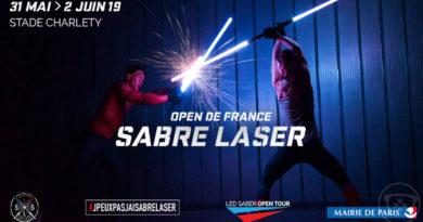 [Event] L'Open de France de Sabre Laser du 31 Mai au 2 Juin 2019