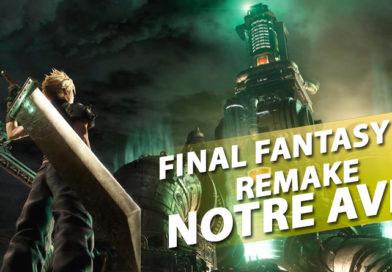 Avis PS4 – Final Fantasy VII Remake