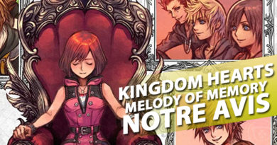 Avis PS4 – Kingdom Hearts : Melody of Memory